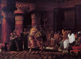 Лоуренс Альма-Тадема. Времяпрепровождения в Древнем Египте 3 000 лет назад