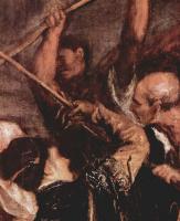 Тициан Вечеллио. Коронование терновым венцом, деталь