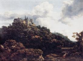 Якоб Исаакс ван Рейсдал. Замок