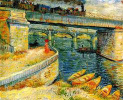 Мост через Сену в Аньер