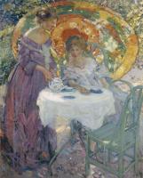 Ричард Эдвард Миллер. Чай в саду.