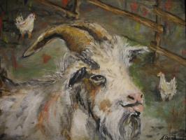 Alexander Valerievich Orlov. Goat and Chicks
