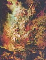 Питер Пауль Рубенс. Низвержение падших ангелов в преисподнюю