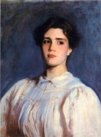 John Singer Sargent. Portrait Of Sally Fairchild