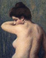 Федерико Дзандоменеги. Девушка с обнажённой грудью