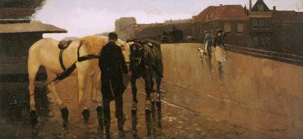 Виллем де Зварт. Белый конь