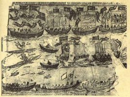 Кристиан Тиело. Прибытие гренландцев в Копенгаген