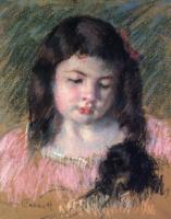 Мэри Кассат. Франсуаза, смотрящая вниз