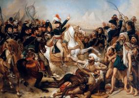 Антуан-Жан Гро. Битва у пирамид 21 июля 1798 года