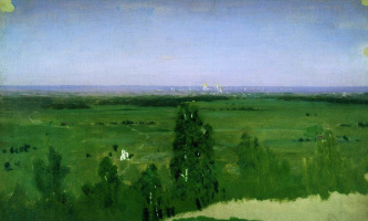 Архип Иванович Куинджи. Вид на Москву с Воробьевых гор