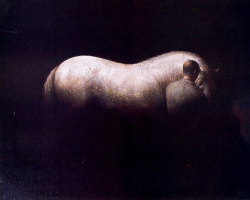 Хосе Мануэль Гомес. Белый конь