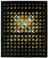 Maurits Cornelis Escher. Pre-decorated ceiling design for Philips