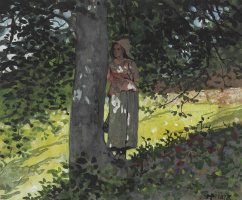 Winslow Homer. In the shadows