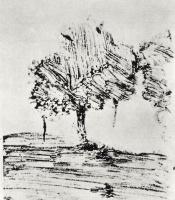Эдгар Дега. Два дерева