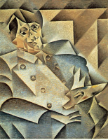 Хуан Грис. Портрет Пикассо