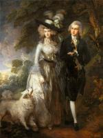 Томас Гейнсборо. Утренняя прогулка. Портрет сквайра Уильяма Хэллета с супругой Элизабет