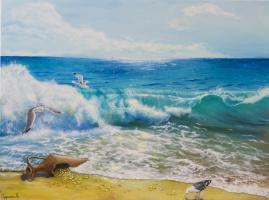 Alina Alexandrovna Kuchinskaya. Gentle surf