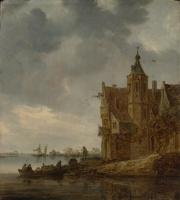Ян ван Гойен. Загородный дом у воды