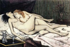 Le sommeil d'après Courbet