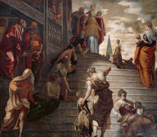 Introduction of Mary to the temple