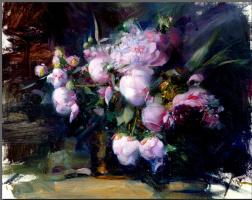 Пино Даени. Нежные цветы