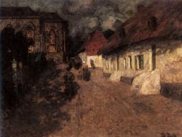 Фриц Таулов. Полночь
