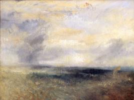 Джозеф Мэллорд Уильям Тёрнер. Вид на Маргит с моря