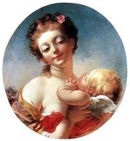 Жан Оноре Фрагонар. Венера и Купидон