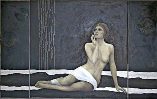 Natalia Bagatskaya. In the moonlight