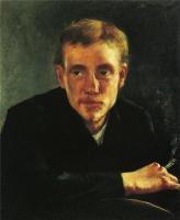 Ловис Коринт. Портрет художника Эжена Горге