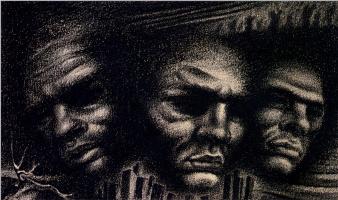 Ричард Пауэрс. Три солдата