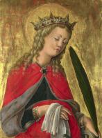 Скьявоне Джорджио. Святая Екатерина