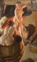 Galenika girls in the bath