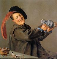 Юдит Лейстер. Пьющий мужчина