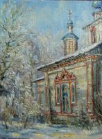 Victor Vladimirovich Kuryanov. Village temple