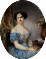 Ипполит Робийяр. Портрет княгини Ирины Ивановны Паскевич