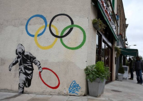 Banksy. Olympic Series 1