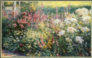 Ян Павловский. Утро в саду
