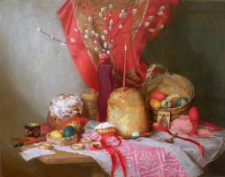 Мария Сергеевна Лазарева. Пасхальный натюрморт