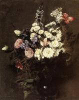 Henri Fantin-Latour. Autumn flowers