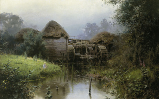 Vasily Dmitrievich Polenov. Old mill