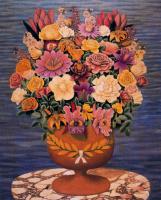 Хигинио Маллебрера. Большой букет цветов