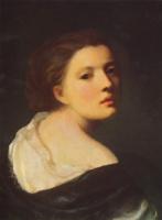 Жан-Батист Грёз. Портрет девушки
