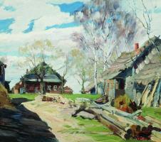 Сергей Арсеньевич Виноградов. Деревня