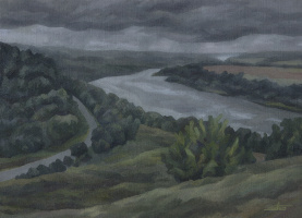 Андрей Иванович Борисов. Sad landscape