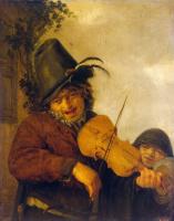 Адриан Янс ван Остаде. Странствующий музыкант