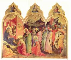 Don Lorenzo Monaco. The adoration of the Magi