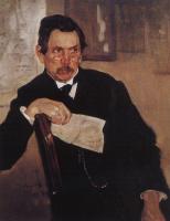 Valentin Aleksandrovich Serov. Portrait Of A. V. Kasyanov