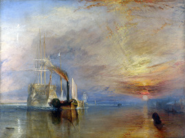 "Joseph Mellord William Turner. Last voyage of the frigate ""Brave"""