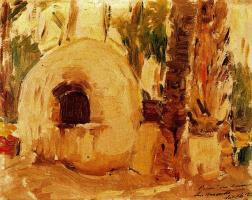 Хоакин Соролья (Соройя). Печь в пальмовой роще в Эльче